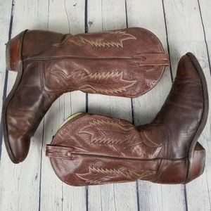 BRAHMA | western cowboy leather pull-on boots